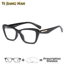 Женские квадратные очки в оправе кошачий глаз модные monturas