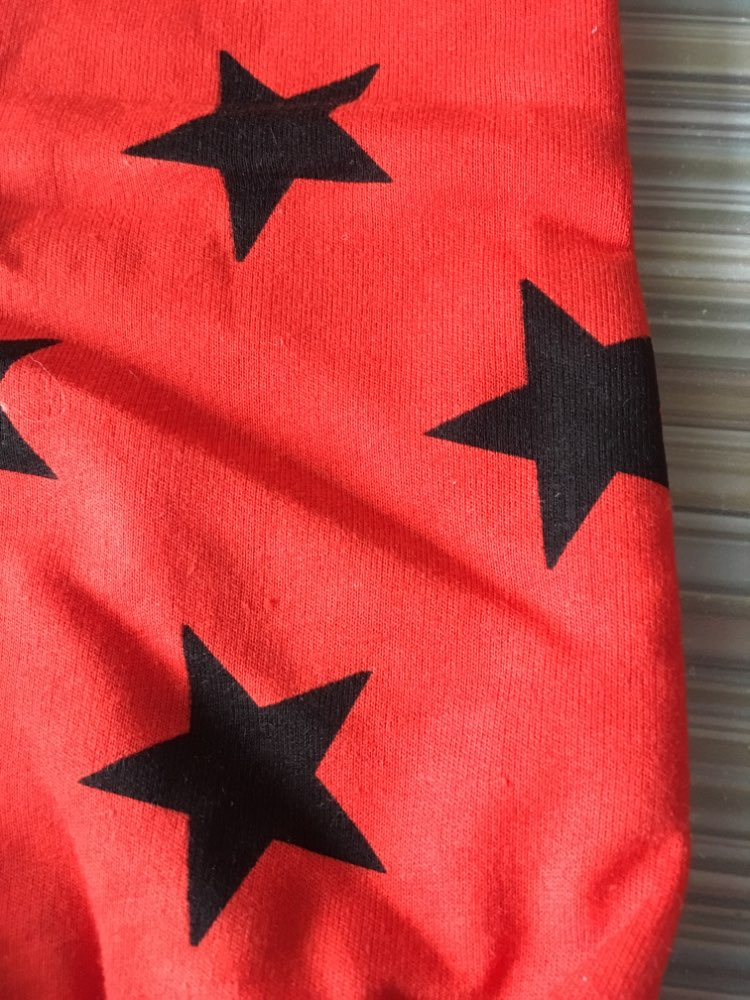Fashion Casual Star Patterned Cotton Boy's Pants photo review