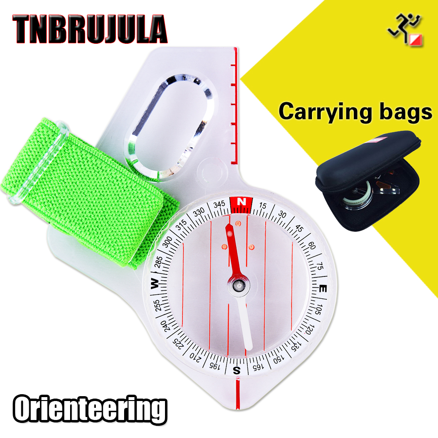 orienteering thumb compass elite competition orienteering compass map ruler outdoor mountaineering directional travel in Compass from Sports Entertainment