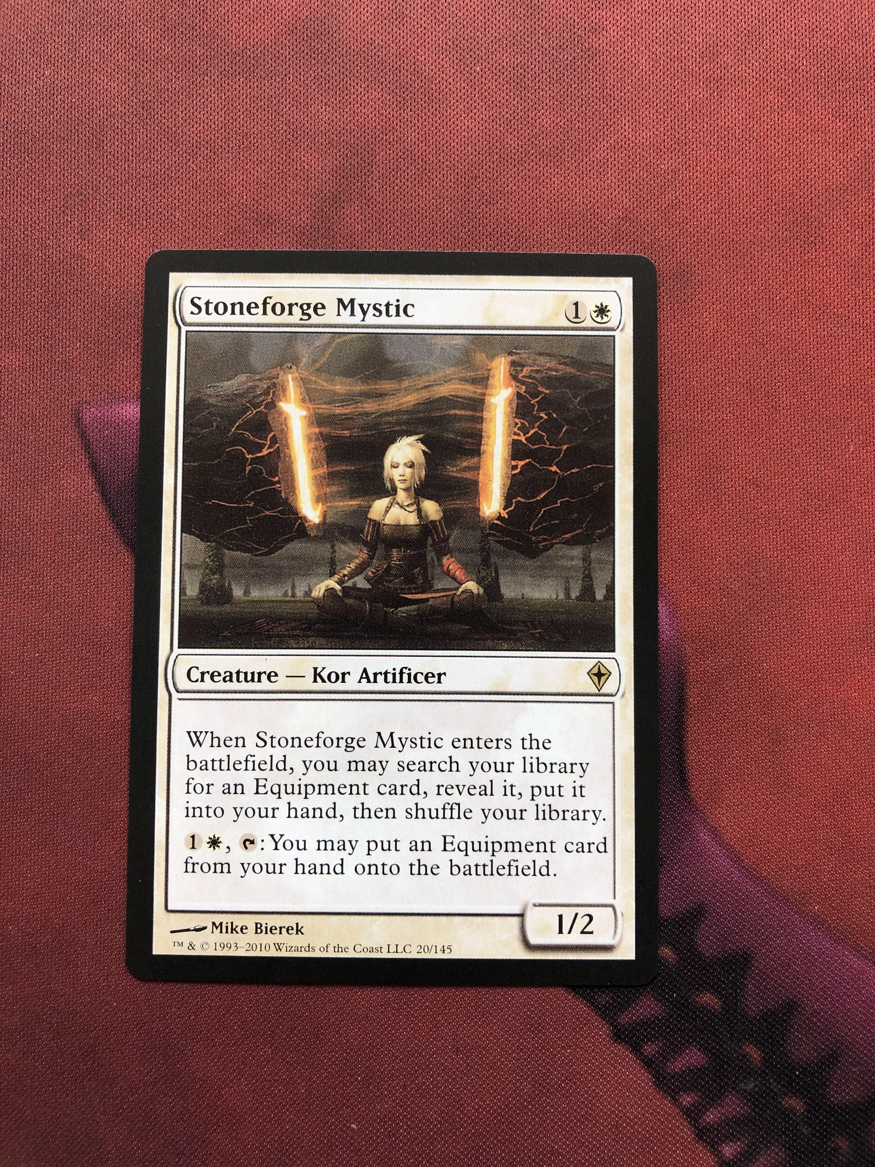 Stoneforge Mystic Worldwake Magician ProxyKing 8.0 VIP The Proxy Cards To Gathering Every Single Mg Card.