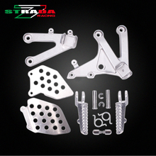 Front Foot Rests Pedal Bracket Assembly Kit For Honda CBR600RR F5 07 08 09 10 11 12 13 14 CBR600 F5 07-14 Motorcycle Parts