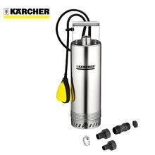 Насос погружной скважинный KARCHER BP 2 Cistern (мощность 800 Вт, производительность 5700 л/ч, Макс. глубина погружения 7 м, корпус насоса и резьбовой штуцер из нержавеющей стали)