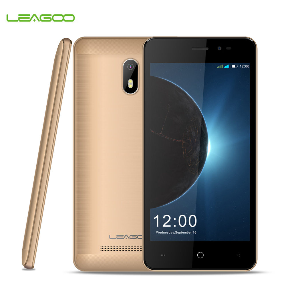 "Leagoo Z6 1GB RAM+8GB ROM 4.97"" Display Android 6.0 MT6580M Quad Core 1.3GHz 3G Smartphone 2000mAh 5MP Dual SIM Mobile Phone"