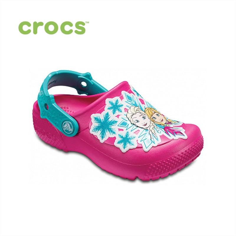 CROCS Crocs Fun Lab Frozen Clog K KIDS or boys/for girls, children, kids TmallFS цены онлайн