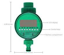 ЖК-дисплей Дисплей АВТОМАТИЧЕСКИЙ ЭЛЕКТРОННЫЙ Таймер подачи воды орошения сада контроллер электромагнитный клапан цифровой разведки полива Системы