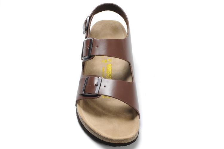2018 Original Nueva Llegada Zapatillas de Playa Birkenstock Milano - Zapatos de hombre - foto 4