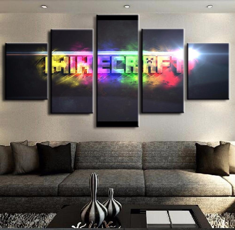 Minecraft Letter Logo