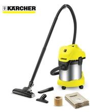 Пылесос для сухой и влажной уборки Karcher WD 3 Premium Home ( вместимость пылесборника 17л, для сухой и влажной уборки, мощность 1000 Вт, функция выдува, кабель 4 м)