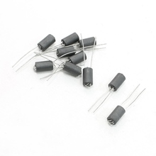 UXCELL 6Mm X 10Mm 0.8Mm Axial Lead 6 Channel Ferrite Beads Inductors 10 Pcs