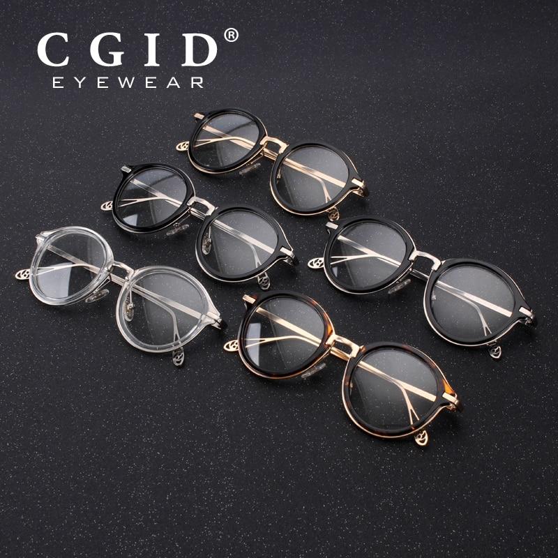 37244ce18ba CGID 2018 Men Polarized Sunglasses Round Steampunk Removable Clip On Shades