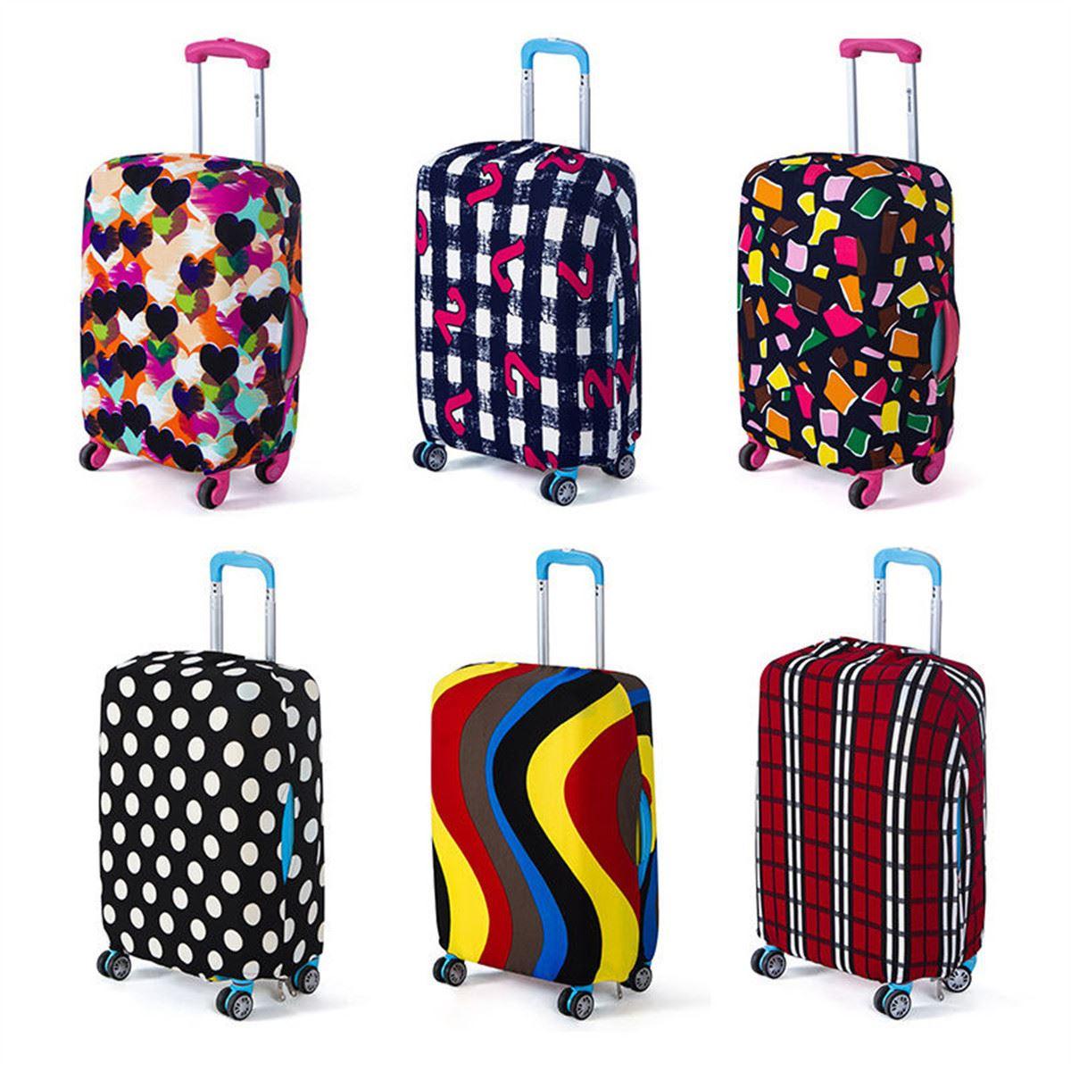 988ab2a75ded Путешествия чемодан пылезащитный чехол для путешествий чемодан крышка  защитный чехол для чемодана тележка чехол для 18 до 20 дюймов сумка ак.