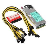 1200W 900W PSU Miner Power Supply For GPU Open Rig Mining Ethereum Miner 94 Platinum Antiminer