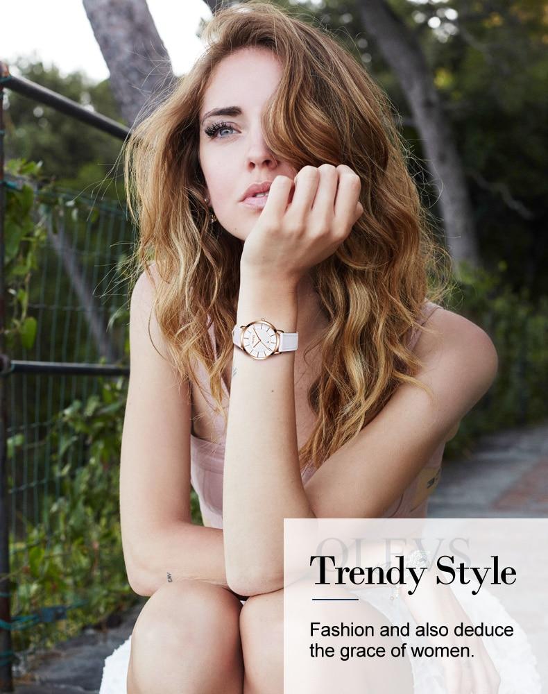 UTB8kmQicSnEXKJk43Ubq6zLppXaA 60% OFF OLEVS Men Ultra thin Watches - Top Brand Luxury Quartz Watch Men's [ New ]