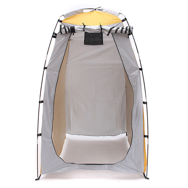 High Quality C&ing Shower Toilet Tent Outdoor Portable Change Room Shelter Waterproof Cloth Outdoor Tent  sc 1 st  AliExpress.com & High Quality Camping Shower Toilet Tent Outdoor Portable Change ...