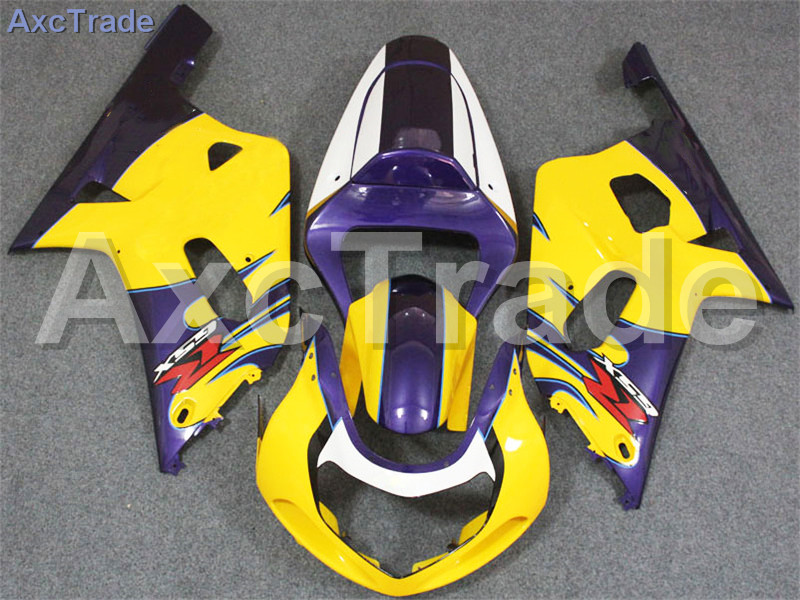 Комплекты мотоцикл Обтекатели для Suzuki GSXR системы GSX-Р 600 750 GSXR600 GSXR750 2001 2002 2003 К1 пластичной Впрыски ABS обтекатель комплект A271