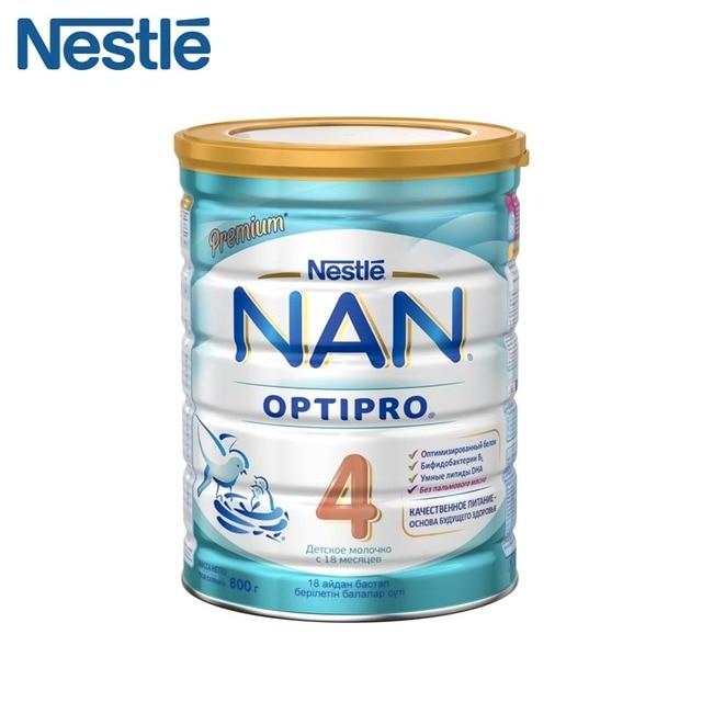 Детская Смесь NAN 4 Optipro (Nestle) с 18 месяцев 800 г