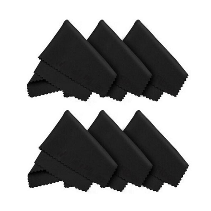 6 uds paños de microfibra para pantallas de gafas lentes paño de limpieza tabletas Laptop LCD TV superficies limpieza herramienta de limpieza toalla