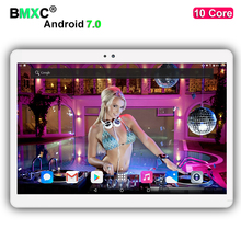 Newest T700 10 inch 10 Core Tablet PC Android 7.0 4GB RAM 128GB ROM 1920*1200 IPS Screen 4G LTE 8.0 MP Camera DHL free shipping
