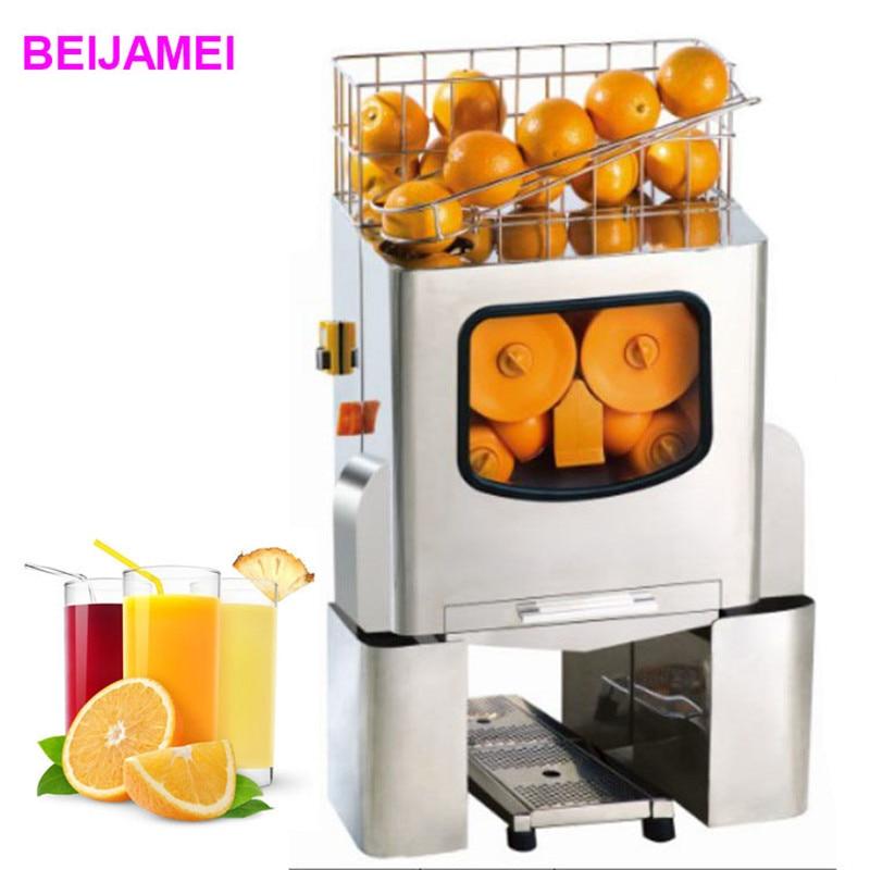 BEIJAMEI E-3 Commercial Fresh orange Juice Extractor/Electric lemon juicer machine/citrus juice squeezer machine liqua pineapple flavor 3mg 30ml e juice