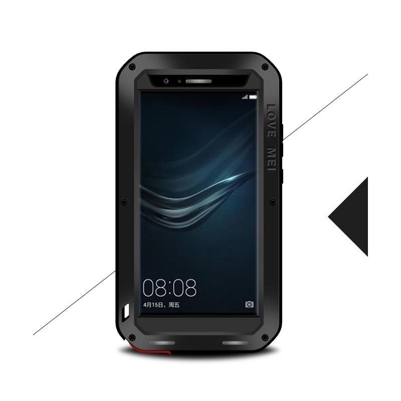 imágenes para AMOR MEI para Huawei P9 Plus (5.5 pulgadas) Cubierta de Protección A Prueba de polvo a prueba de Golpes Dropproof Caso para Huawei P9Plus Potente