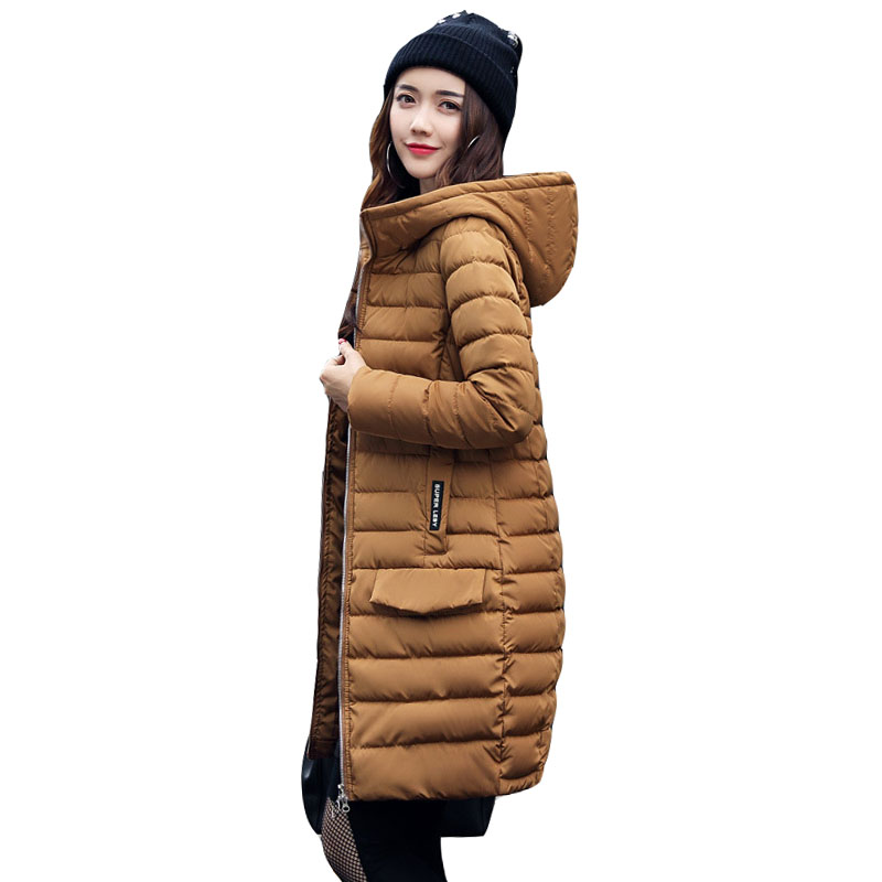 New Winter Collection Women s Parka Hooded Warm Jacket New Fashion Brand High Quality Thick Outwear