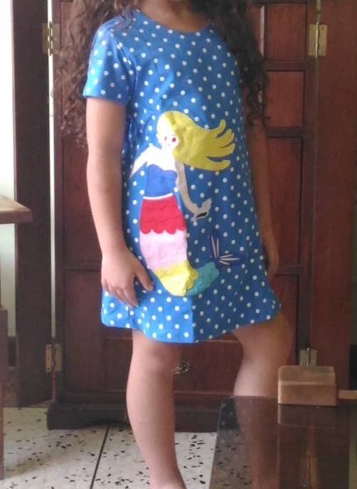 Girl's Flare Sleeved Dress photo review