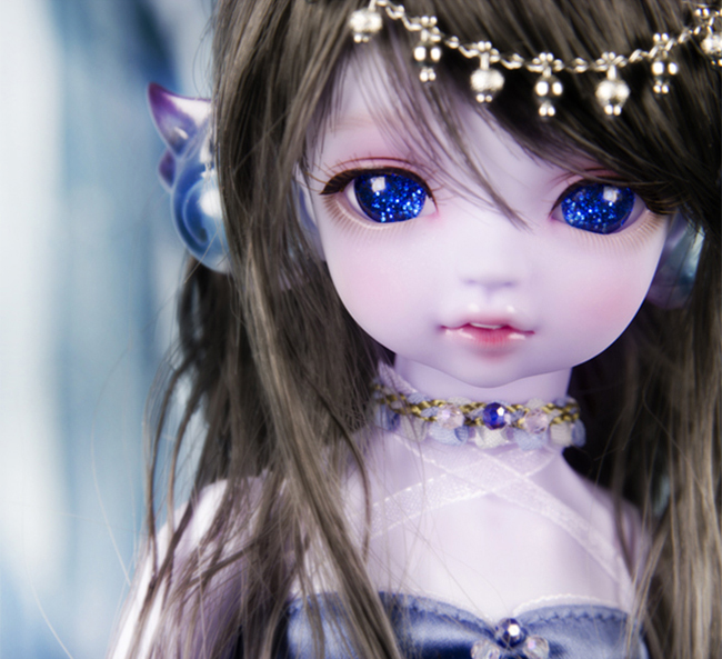 HeHeBJD 1/6 Serin & Rico mini meerjungfrau harz bjd modell spielzeug geschenke freies verschiffen-in Puppen aus Spielzeug und Hobbys bei  Gruppe 1