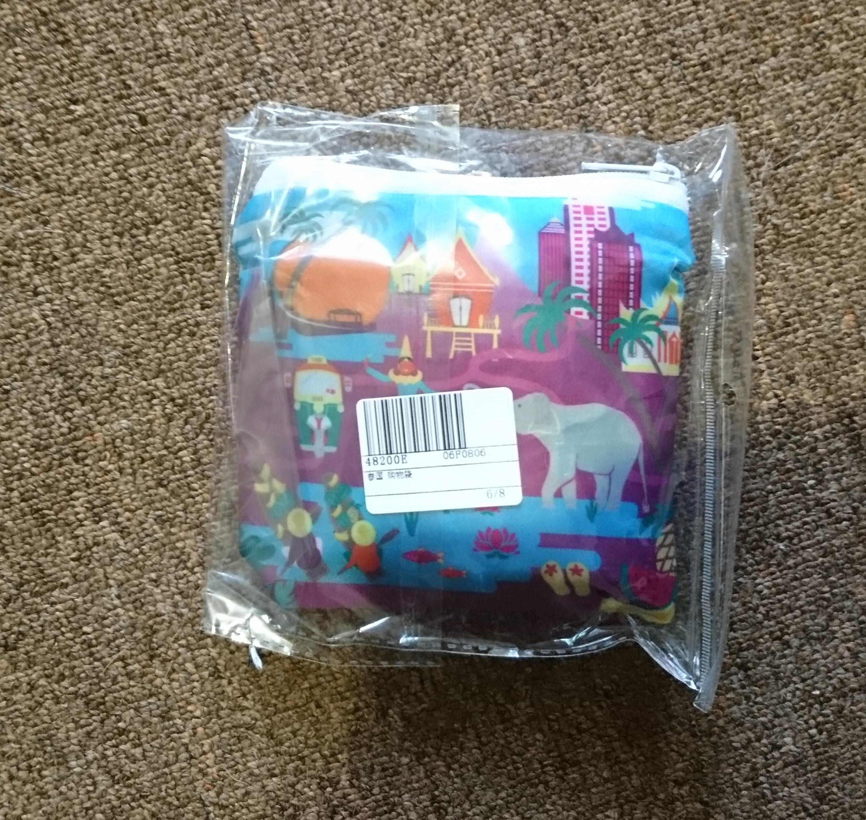 Eco Friendly Shopping Bags Waterproof Travel Custom Reusable Handbag Women Shoulder Cloth Pouch Foldable Grocery Bulk Organizer photo review