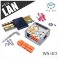 Официальный M5Stack LAN модуль с W5500 чипом LanProto Ethernet преобразования сетевой модуль микроконтроллер для Arduino 9-24 В до 5 В