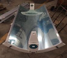 Parabolic solar collector CSP
