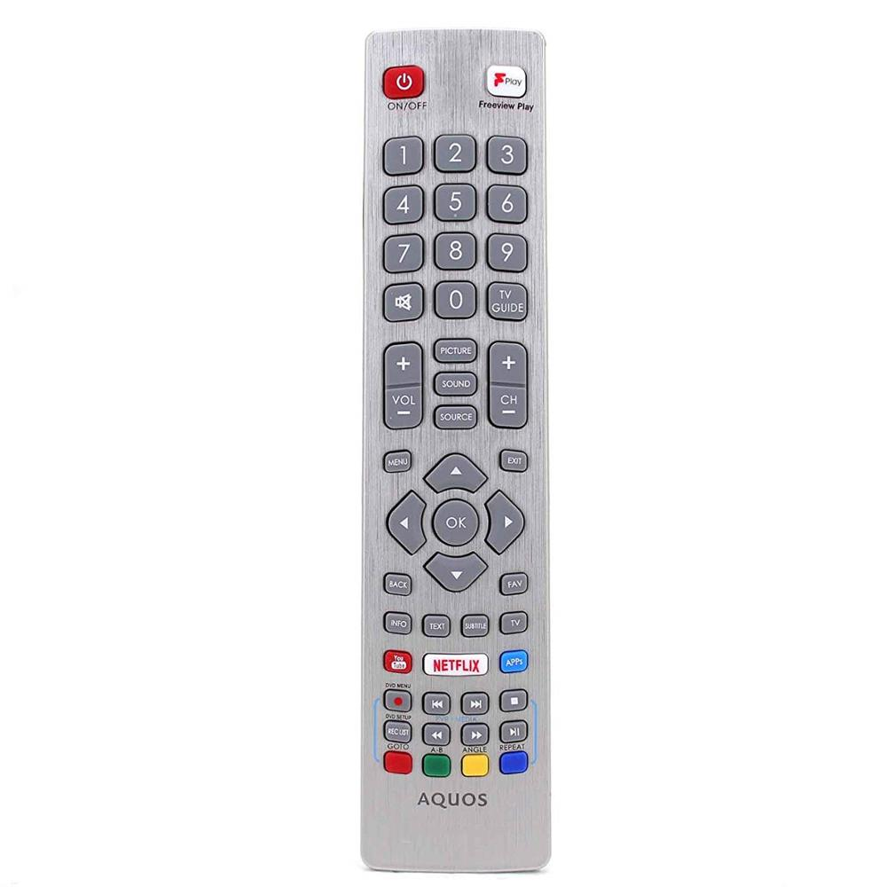 Original IR Remote Control For Sharp Aquos 3D Smart TV Freeview Play / Youtube / Netflix / APPs image