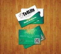 Бумажная визитная карточка и визитная карточка в 300gsm напечатанный бумажные карточки с печать логотипов под заказ