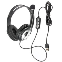 Practical USB Stereo Headphone Gaming Headset Earphone with
