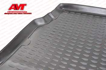 Trunk mats for Hyundai Elantra 2007-2010 Sedan 1 pcs rubber rugs non slip rubber interior car styling accessories