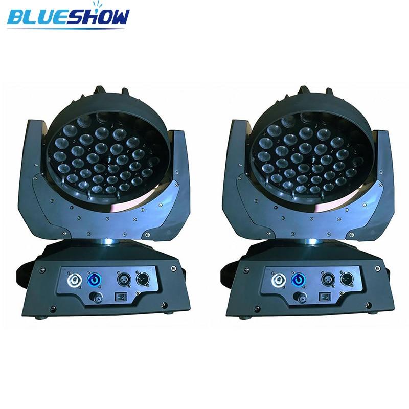 Bez daně vlastní 2ks / šarže Zoom LED světlo pro mytí hlavy 36x10W RGBW Quad 4v1 36x12w RGBWA 5v1 36x15w RGBWAUV 6v1