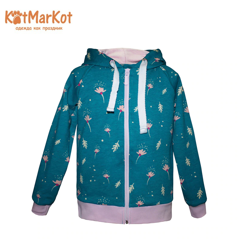 Hoodie Kotmarkot 20855 children clothing for girls kid clothes clothes graphic striped hoodie