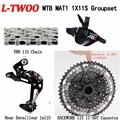 LTWOO X01 EAGLE GROUP SET BLACK 11-50T 11SPEED DRIVETRAIN SHIMAN0 DRIVER CASSETTE