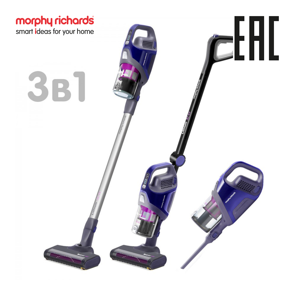 Morphy Richards 734050 Handheld Cordless Vacuum Cleaner Portable Wireless Cyclone Filter Carpet Sweep Dust Collector home jiqi vacuum cleaner household hand held carpet type ultra quiet small mini large power strong dust cleaning machine