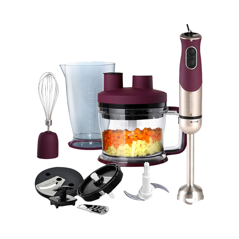 Blender Zigmund & Shtain BH-339 M immersion with wisk with chopper kitchen electric for smoothies with 10
