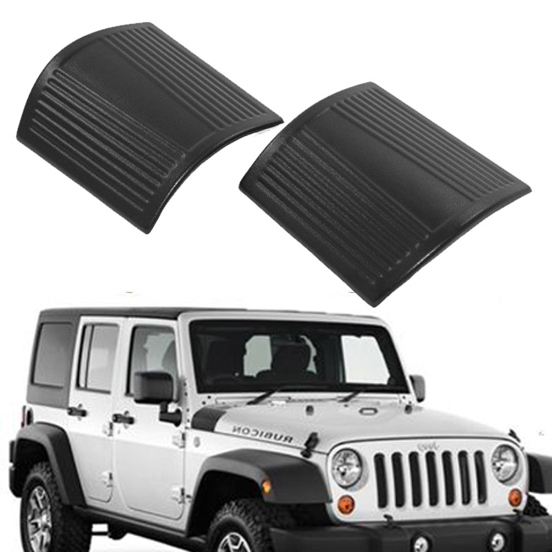 2pcs ABS Body Armor Side Cowl Cover Protector Fit For Jeep Wrangler JK 07-17 16