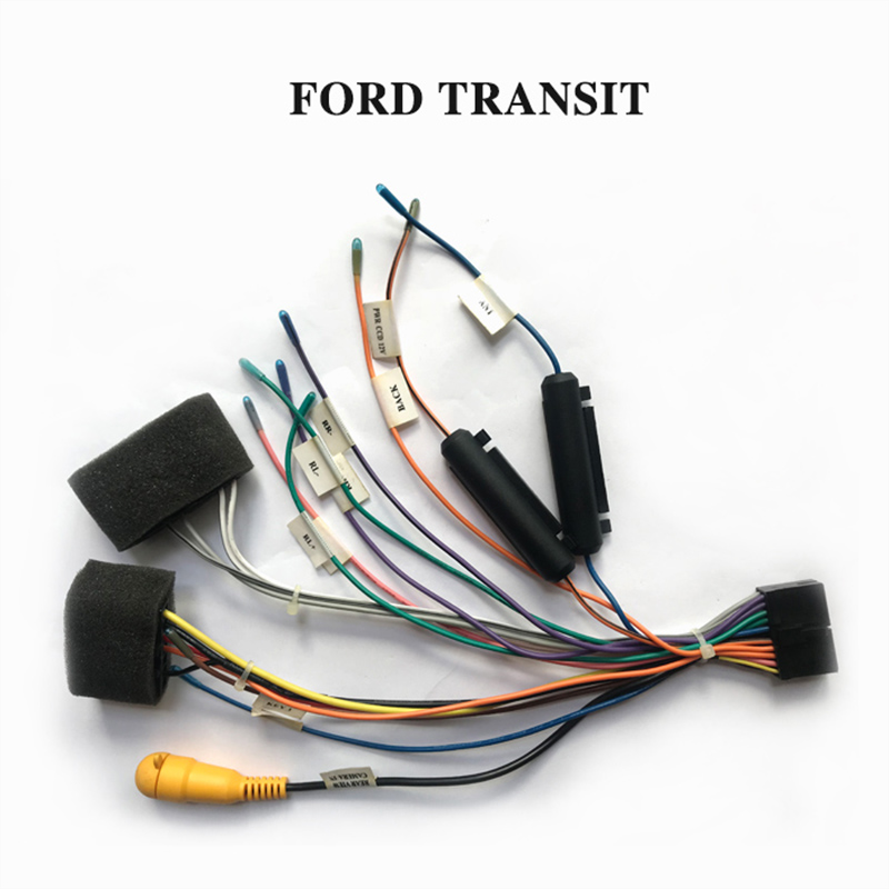 Wiring Harness Cable For Ford Transit Only For Arkrifht Car Radio Android Device
