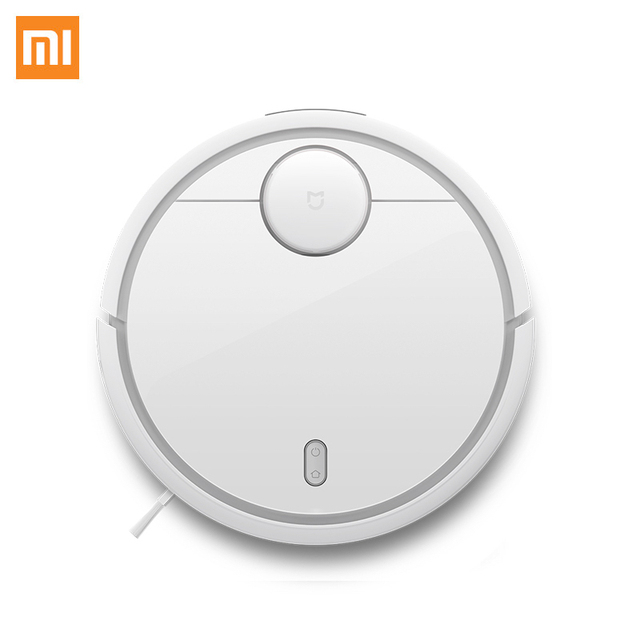 Умный робот-пылесос Xiaomi SKV4022GL для сухой уборки, белый