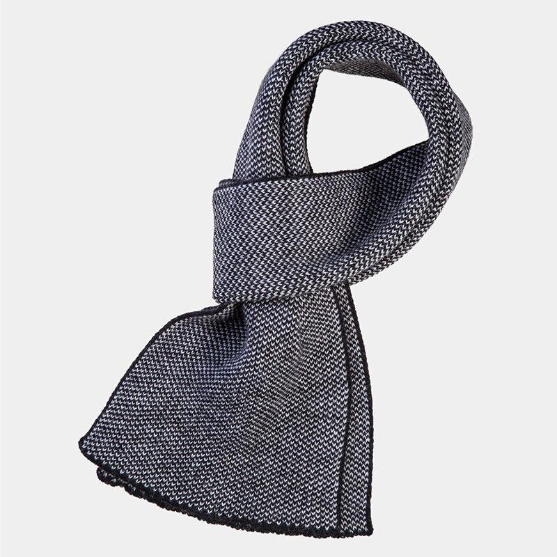 Scarf Canoe3449111 vertical stripe pattern fringed edge scarf
