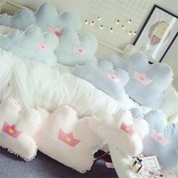 Eva2king Newly Cloud Soft Stuffed Plush Pillow Detachable Sofa Cushion Baby Room Decoration Skin friendly Pillows For Children