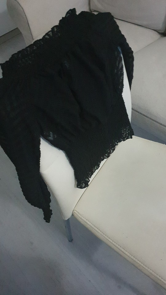 Off Shoulder Smocking Chiffon Blouse Female Ruffle Elastic White Tops Elegant Mesh White Lantern Sleeve Blouse Shirt photo review