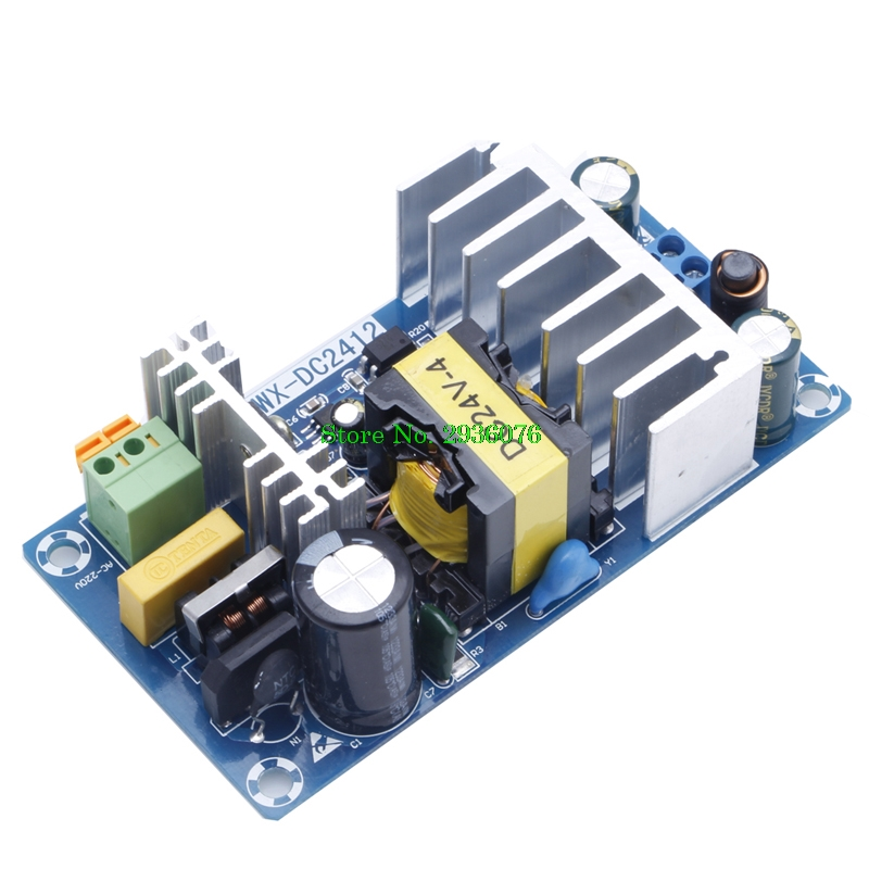 6A AC-DC Power Supply Module Switching Power Supply Board AC 110v 220v To DC 24V 5v24v power module 220v to 5v24v ac dc demo board with emc filter
