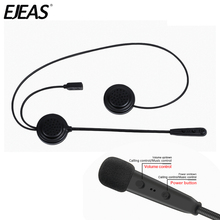 EJEAS E200 300m Bluetooth Motorcycle Helmet Wireless Headset Radio  Communication Moto for 2 Riders Interphone Headset