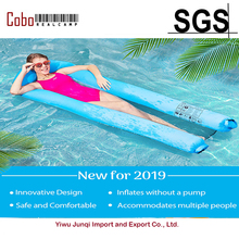 цена на Inflatable Pool Swimming Portable Floating Lounger Chair Water Hammock Beach Camping Sofa  Bed Water Lounge  for Adults & Kids