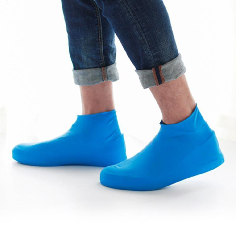 Unisex Outdoor Waterproof Dustproof Disposable Latex Protective Shoe Covers