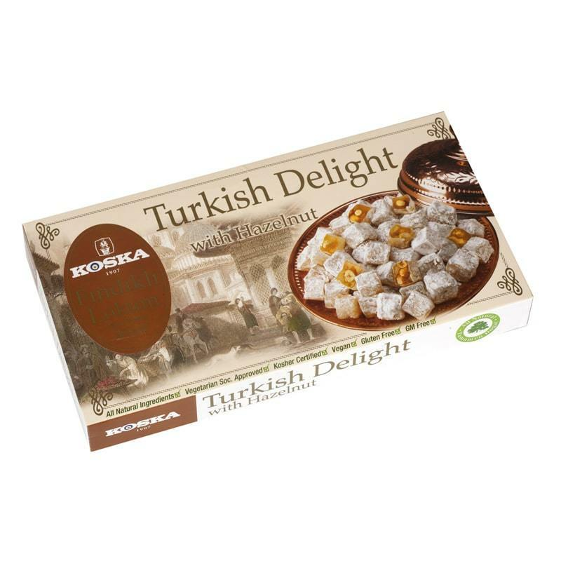 Koska Turkish Delight With Hazelnut 500 Gr. NEW LISTING Delicious